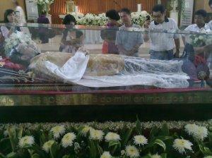 St. Bosco's relic